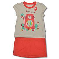 Костюм футболка и юбка на рост 98, 104, 110 Украина