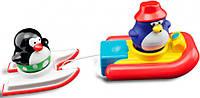 Игрушка для ванны Water Fun Пингвинчики на водных лыжах