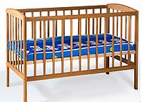Кроватка детская  (1200*600) (бук)