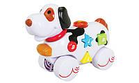 Музыкальная игрушка Дружелюбные животные Собачка со звуковыми эффектами Navystar (65039-E-6)