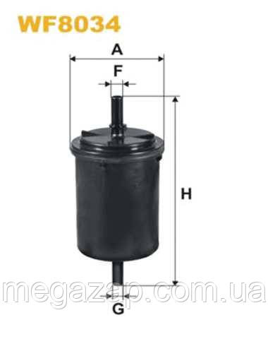 Фильтр топливный GEELY CK-2, MK, MK CROSS