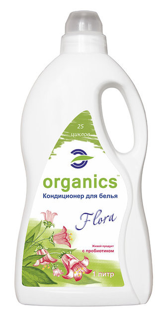 Био-ополаскиватель для белья Organics Флора