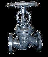 Клапан запорный  проходной фланцевый 15с22нж Ду80 Ру40