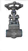 Клапан запорный проходной под приварку 15с27нж Ду20 Ру64
