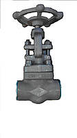 Клапан запорный проходной под приварку 15с27нж Ду50 Ру64