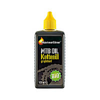 Смазка для цепи Hanseline BIO-MTB-Oil, 125мл (графитная)