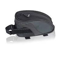 Сумка на раму XLC BA-S61, черно-серый, 16х6х9, 2501717310