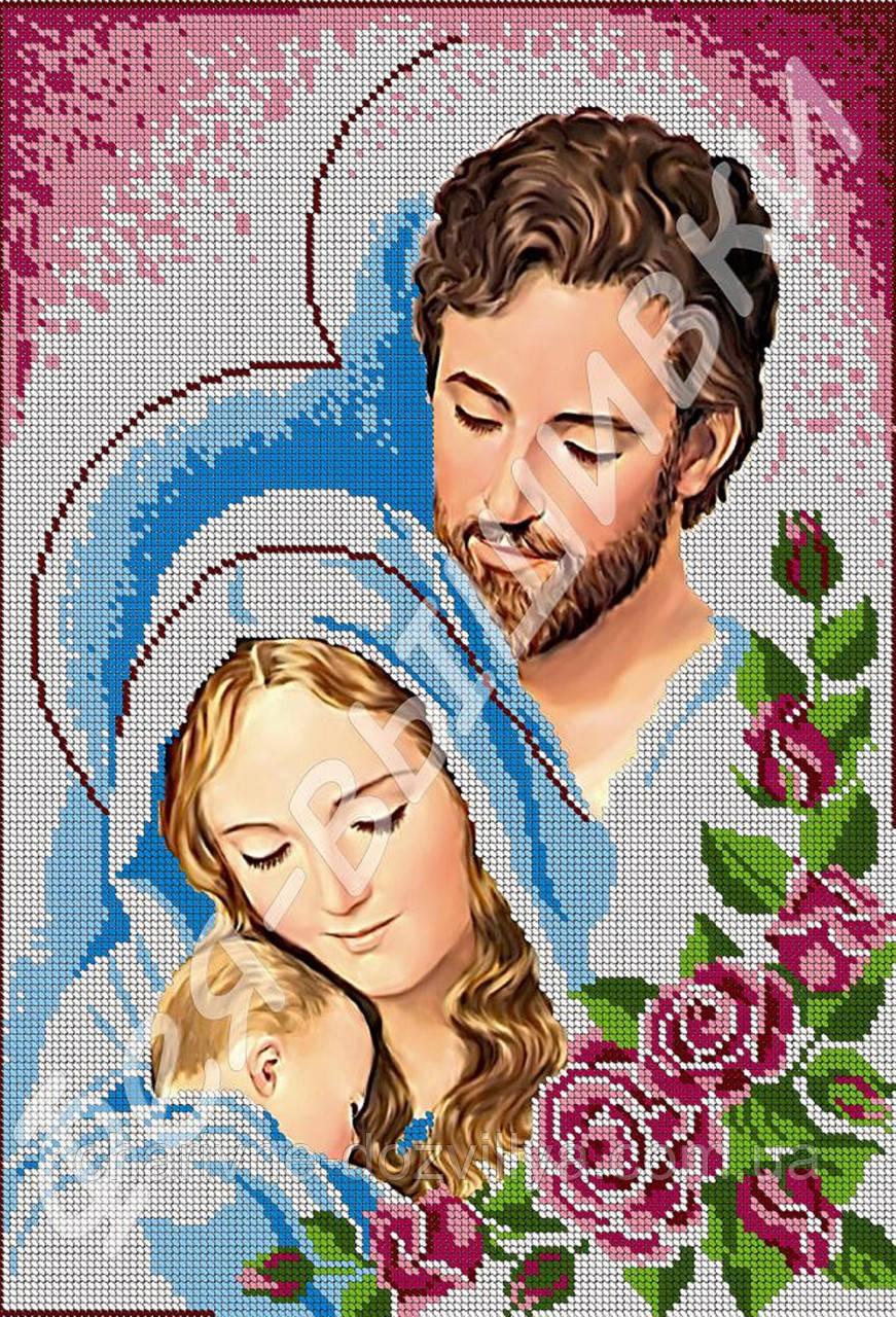 Вышивка бисером икона семейства
