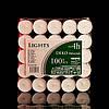 Свечи чайные таблетка 100 шт/уп.(ХозСвеч_таблетка100), фото 2