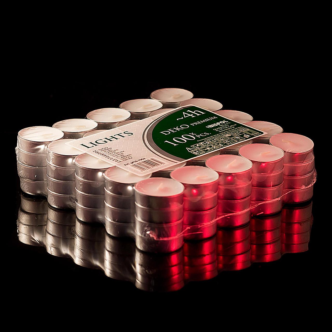 Свечи чайные таблетка 100 шт/уп.