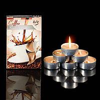 Свечи ароматизированные плавающие, чайные, таблетки 6шт/уп