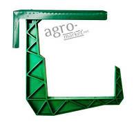"""Крепления для подвески балконного ящика """"Зелёные"""" 1шт"""