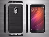 Противоударный бампер PRIMO Carbon Fiber Series для Xiaomi Redmi Note 4X, фото 5