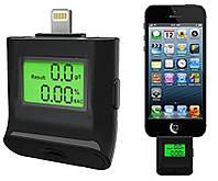 Алкотестер персональный ALT-40 для iPhone5 /5s /5c /iPad /iPod , IPEGA, фото 1