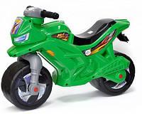 Толокар Орион 501 мотоцикл зеленый