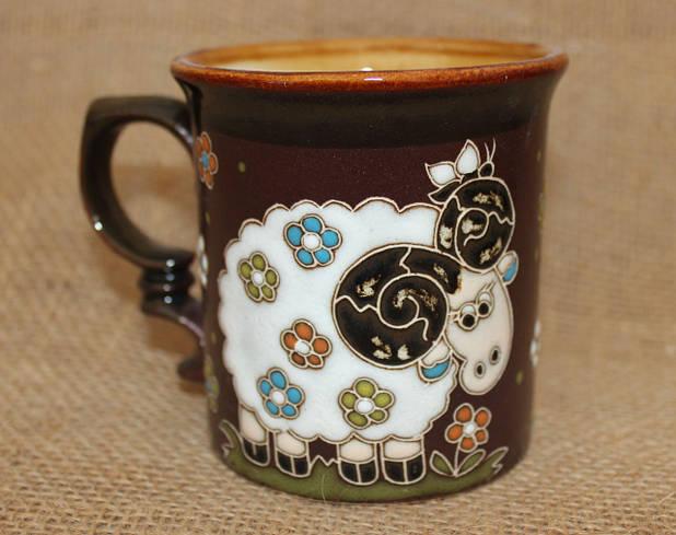 Чашка керамическая «Барашка»
