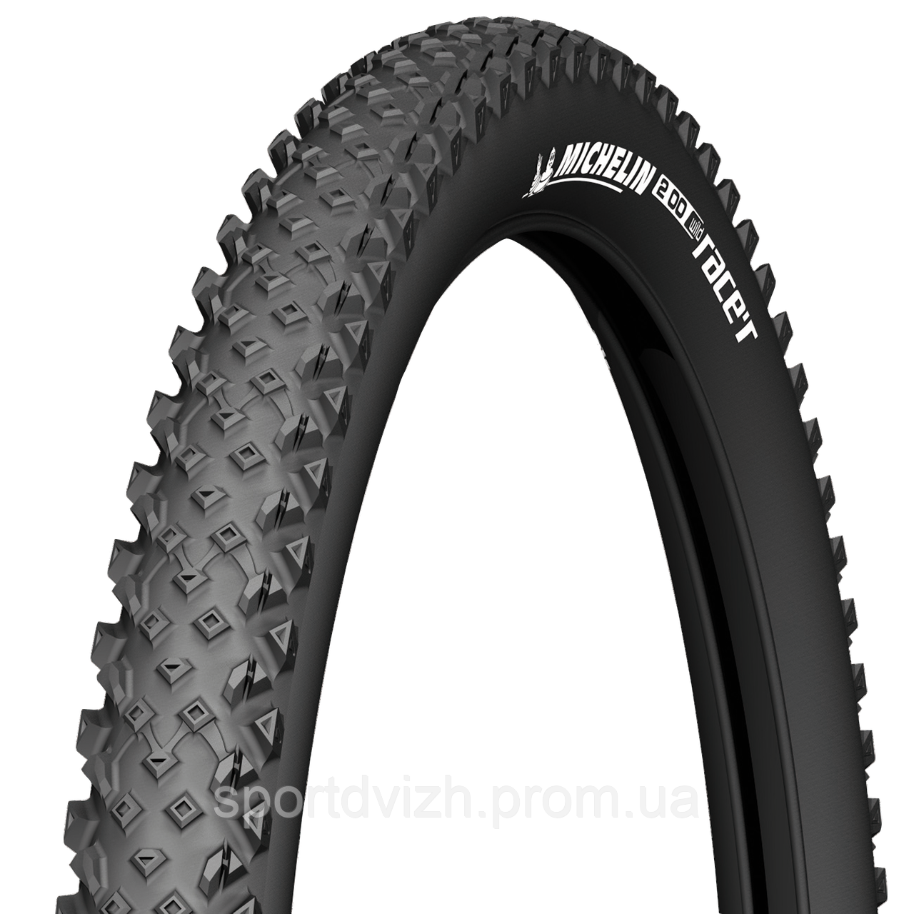 michelin Покрышка Michelin WILDRACER2 ADVANCED 26 (26X2.25) MTB, черный 629899