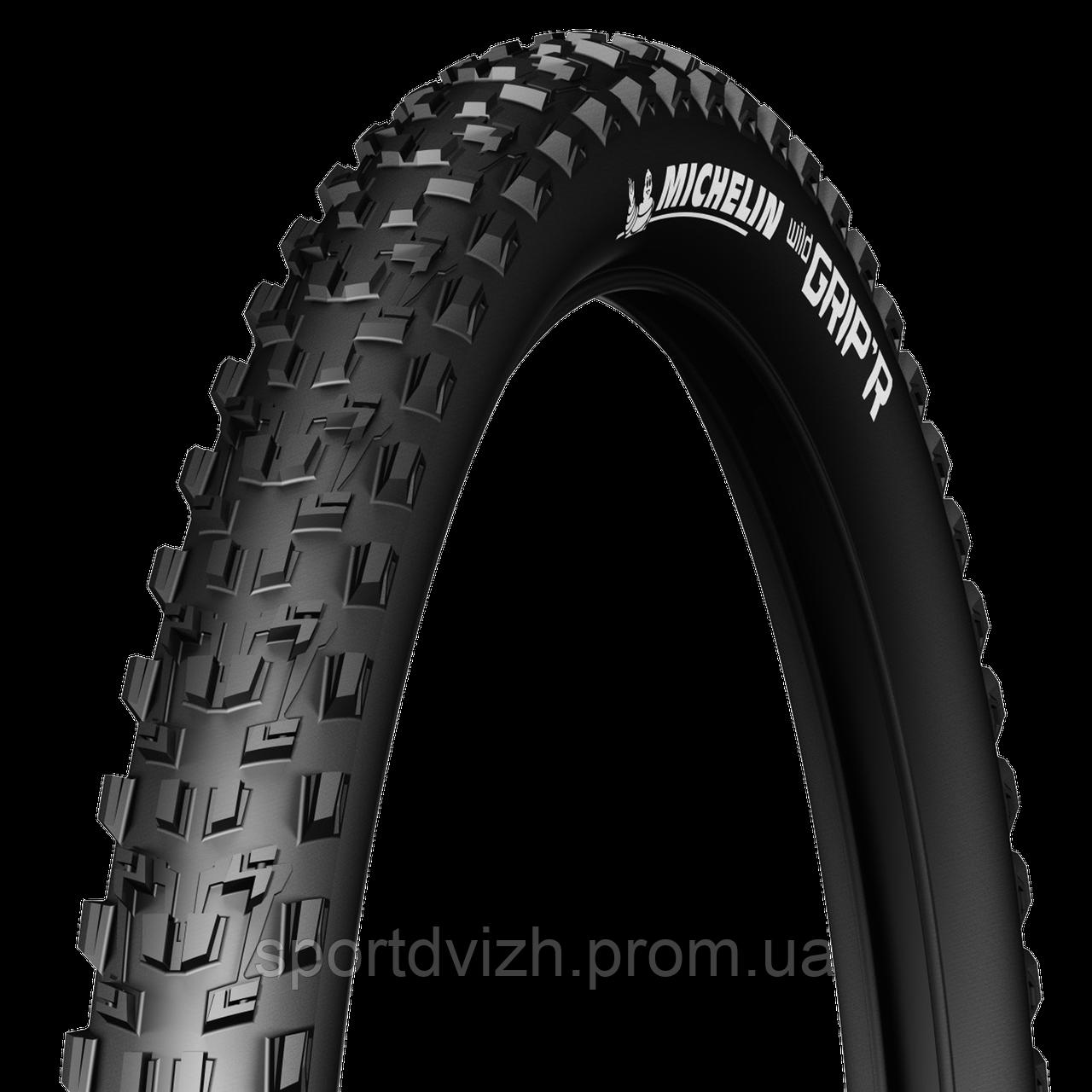 michelin Покрышка Michelin WILDGRIPR2 TS 26 (26X2.10) MTB, бескамерная, черный 485318