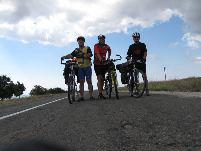 Велопоход Тарханкут 2011