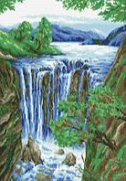 Набор алмазной вышивки Водопад