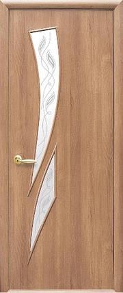 Модель Камея ПВХ стекло Р межкомнатные двери, Николаев, фото 2