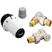 Комплект термостатический RAS-C2+RA-FN+RLV-S, Ду15 угловой