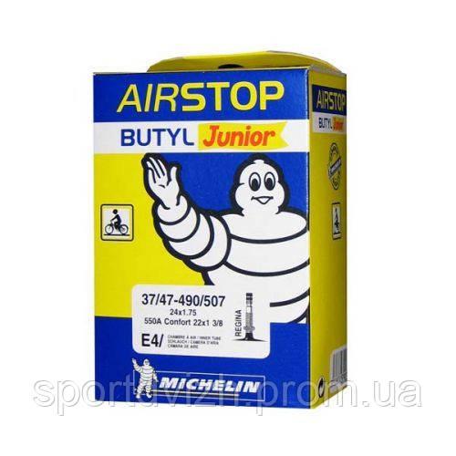 michelin Камера Michelin E4 AIRSTOP, MTB 24x1.75 - 22x1.3/8 (37/47X490/507) ST 198948
