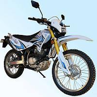 Мотоцикл Qingqi 200 Liger 2 Белый (Sb0004)