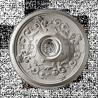 Розетка из гипса р-128 Ø500