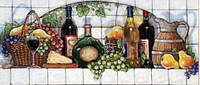 Набор алмазной вышивки Фруктовые вина
