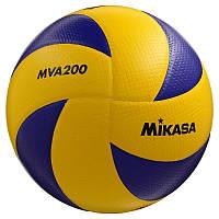 Мяч волейбольный Mikasa, Код - MVA 200