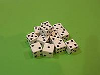 Кубик игральный 16 х 16 мм