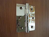 Петля дверная Gelaris 75 мм универсальная хром