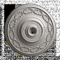 Розетка из гипса р-136 Ø595
