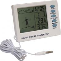 Термо-гигрометр цифровой 108*82мм