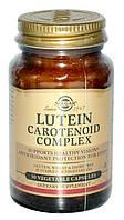 Солгар, Лютеин с каротиноидным комплексом, 30 капсул