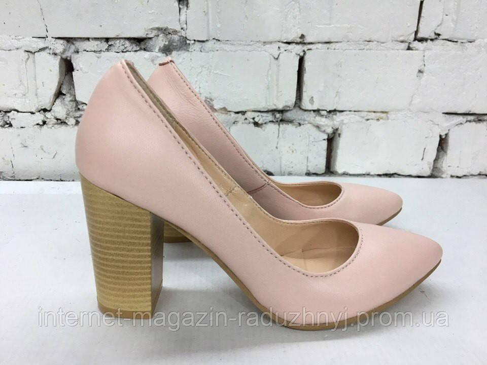 ec0b89f33961 Женские туфли лодочки на толстом каблуке,кожа  продажа, цена в ...