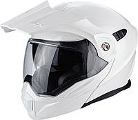 Шлем эндуро модуляр Scorpion ADX-1 белый, L