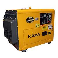 Дизельные генераторы KAMA KDE6500TN