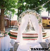 Арка свадебная - Персик