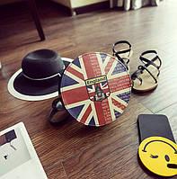 Милые круглые сумочки с модными яркими принтами. Порадует вас и ваших близких.  Отличное качество.  Код: КГ468