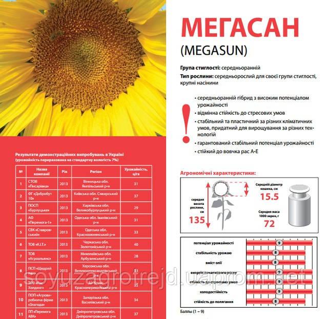 Мегасан семена подсолнечника Лимагрейн