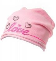Шапка Love детская для девочки, фото 1