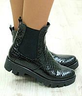 Весенние ботиночки на резинке
