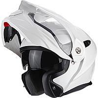 Шлем эндуро модуляр Scorpion ADX-1 белый, M
