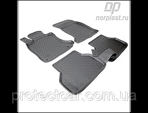 Коврики в салон BMW 5 (E60) (2003-2010) черные