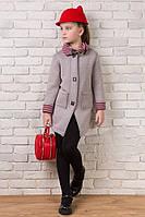 Детское пальто - кардиган с шарфиком Цвета ХА, фото 1