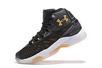 Баскетбольные кроссовки Under Armour Curry 3.5 black-yellow