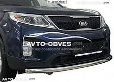 Защитная дуга переднего бампера Kia Sorento 2013-...