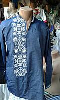 Чоловіча сорочка вишита короткий (довгий) рукав